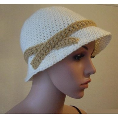 1920 S Flapper Hat Crochet Pattern By Peach Unicorn