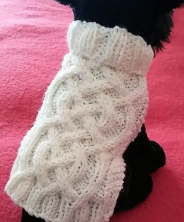 Celtic Braid Dog Sweater