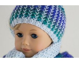 Dragonfly hat and scarf set