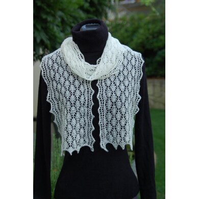 The Ulladulla Easy Lace Scarf