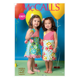 McCall's Toddlers'/Children's Dresses M7143 - Sewing Pattern