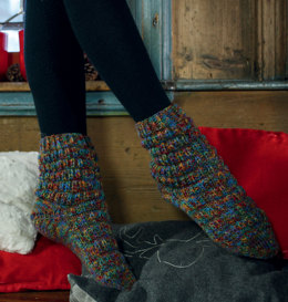 Colourful Socks in Regia Stockholm Color 8 Ply - Downloadable PDF