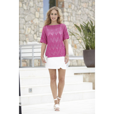 Womans Square and T-Shaped Tops in Sirdar Cotton Dk - 7079