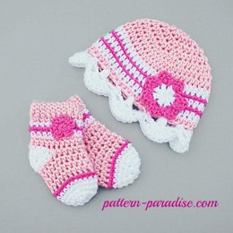 Jasmine Hat & Socks Set