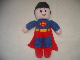 Knitted Superman