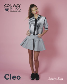 Baseball Jacket in C+B Cleo - Downloadable PDF