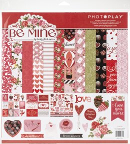 "Photoplay Paper PhotoPlay Collection Pack 12""X12"" - Be Mine"
