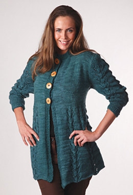 Manitoba Swing Jacket in Manos del Uruguay Clasica Wool Space-Dyed