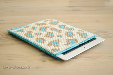 Leopard tablet case
