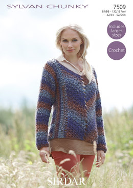 Sweater in Sirdar Sylvan - 7509