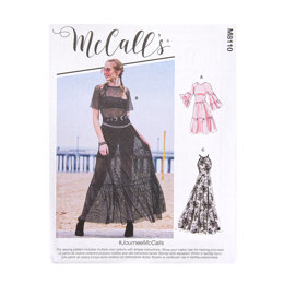 McCall's Misses' Dresses M8110 - Sewing Pattern