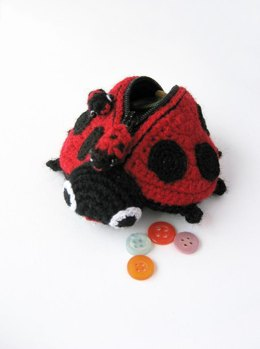 Lola The Ladybird - Amigurumi Coin Purse