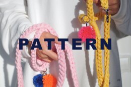 Dog Leash Tutorial - Pet Leash - Cat leash - Video Pattern - For Small and Medium sized dogs/cats