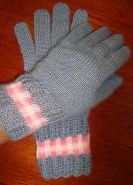 Gingham & Lace Gloves