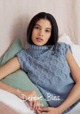 Jessamine Top in Debbie Bliss Iris - Downloadable PDF