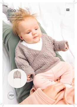 Baby's Hat and Jacket in Rico Baby Classic DK - 1030 - Downloadable PDF