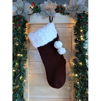 Classic Textures Christmas Stocking