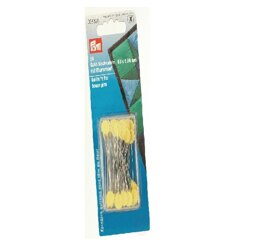 Prym Quilters Flat Flower Pins - 50 x 0.6 mm - Pack of 50