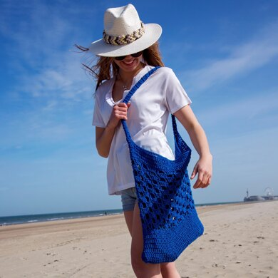Biscaia Beach Bag in Hoooked Eco Barbante - Downloadable PDF
