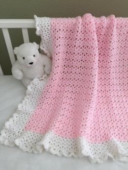 Crochet Baby Blanket - Cherish