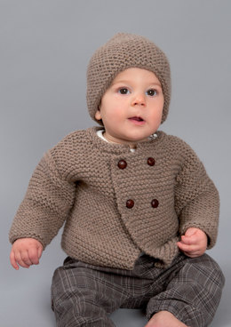 Hat and Cardigan in Rico Essentials Cashlana Chunky - 333 - Downloadable PDF