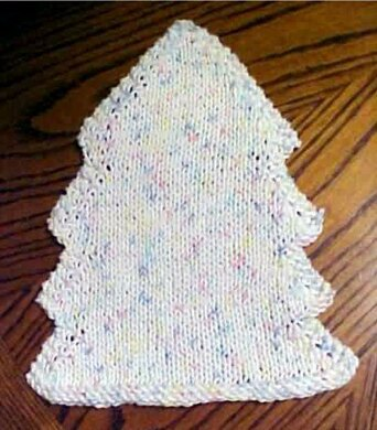 70066fd7e40 Holiday Tree Shaped Dish Cloth.  1.50. off. Downloadable pattern.  Independent Designer. By Frugal Knitting Haus
