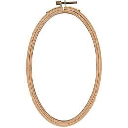 Rico Embroidery Hoop Oval - 13 X 21cm