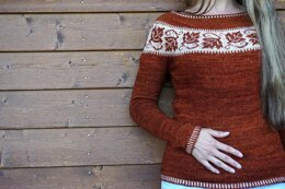 Maple Leaves Sweater