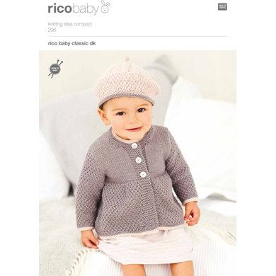 Coats and Berets in Rico Baby Classic DK - 296