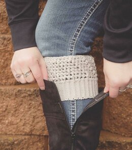 Cascading Ridges Boot Cuffs
