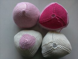Bottoms Up Knockers for Knitted Knockers