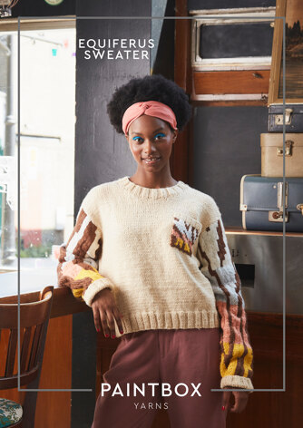 Equiferus Sweater - Free Knitting Pattern For Women in Paintbox Yarns