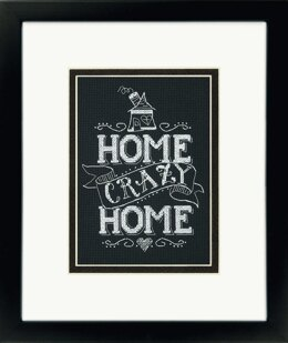 Dimensions Counted Cross Stitch Kit: Home Crazy Home