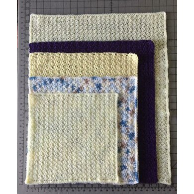 Preemie Blanket in Multiple Sizes and Yarns
