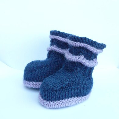 Wavy Baby Boots