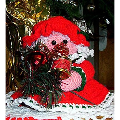 Mrs. Claus Toilet Roll Cover