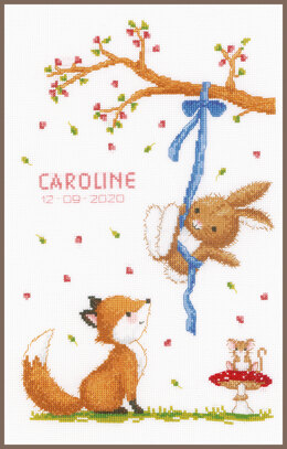 Vervaco Forest Friends Cross Stitch Kit