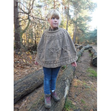 """Autumn Forest""Poncho"