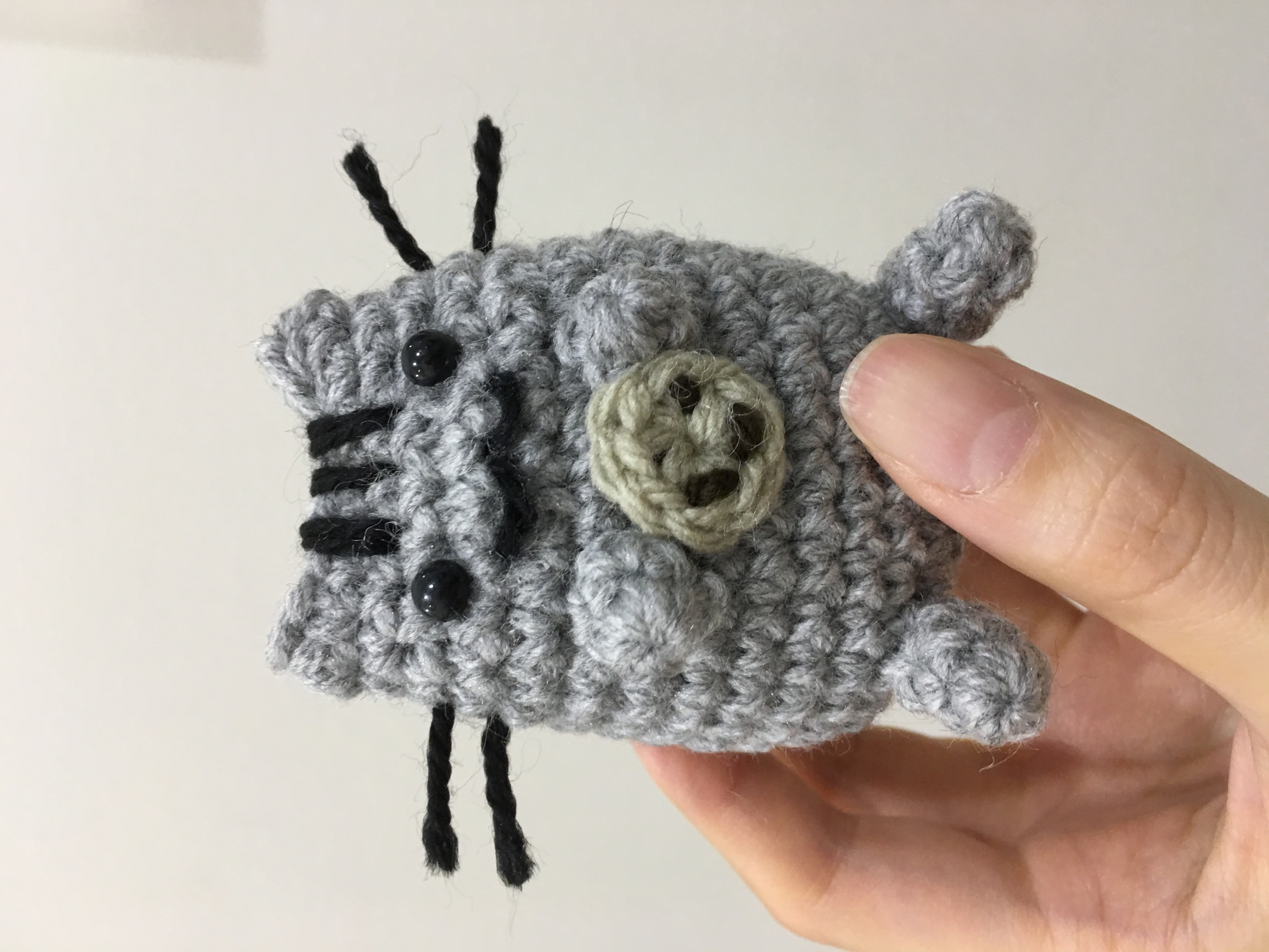 Pusheen Knitting Pattern : Crochet Pusheen Cat crochet project by Jessica P ...