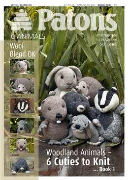 Woodland Animals Book by Patons - 3824
