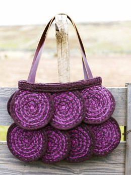 Simona Circle Bag in Imperial Yarn Native Twist - PC07 - Downloadable PDF
