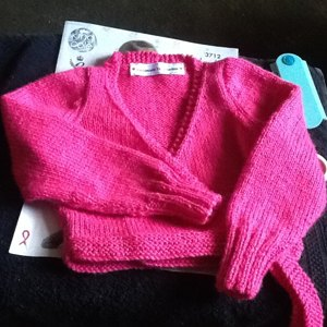 Ballet Cardigan And Leg Warmers In King Cole Dk 3712