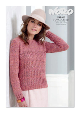 Sweater in Noro Tokonatsu - NLS022 - Downloadable PDF