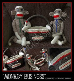 """Monkey Business"" Easter Basket"