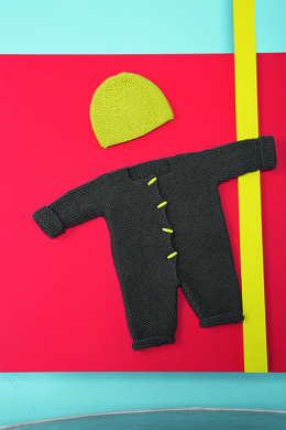 Baby Rompers and Hat in Bergere de France Ideal - 72680-09 - Downloadable PDF