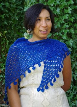 Forget-Me-Knot Shawl