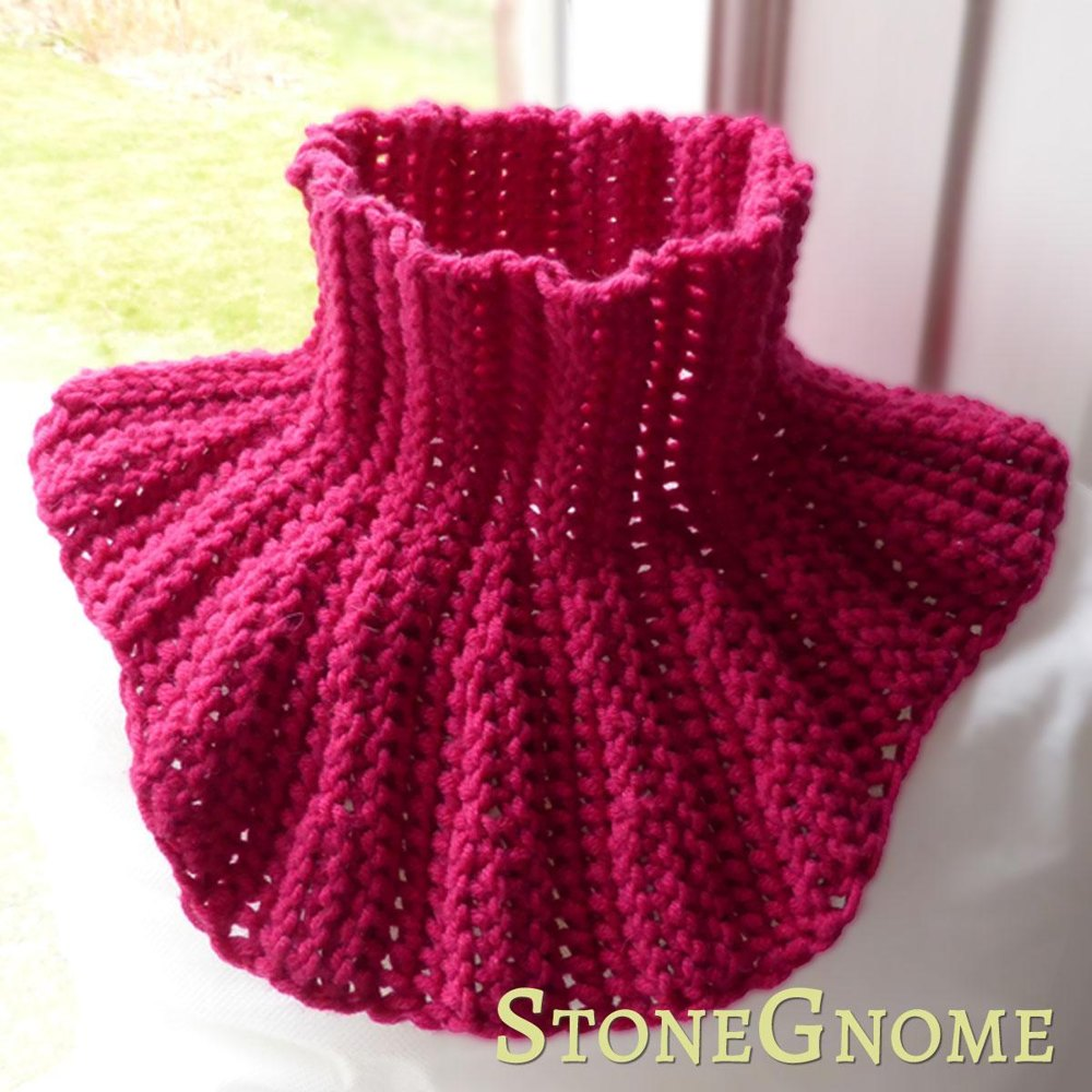 Mini Neck Warmer Crochet Pattern By Stonegnome