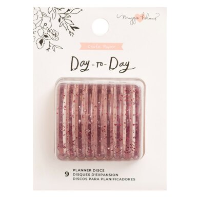 American Crafts Maggie Holmes - Day to Day Discs in Glitter