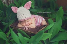Little Piglet Romper and hat set