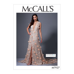 McCall's Misses' Special Occasion Dresses M7927 - Sewing Pattern